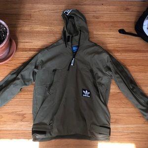 Adidas Army Green Jacket